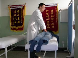 Behandling av diskbråck på Wangjing Hospital i Beijing